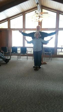 Chris & Amy at Pastors' retreat