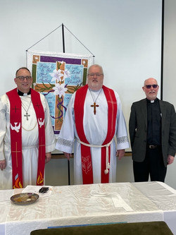 Pastors Douglas Hedman, Stayley & Steffe