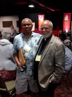 Jean and Gary B at convo