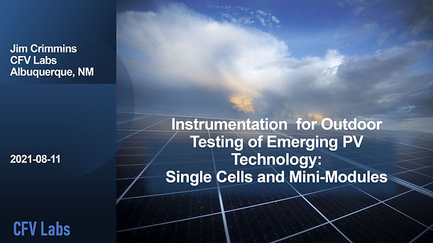 Outdoor Testing of Cells and Mini-Modules.JPG