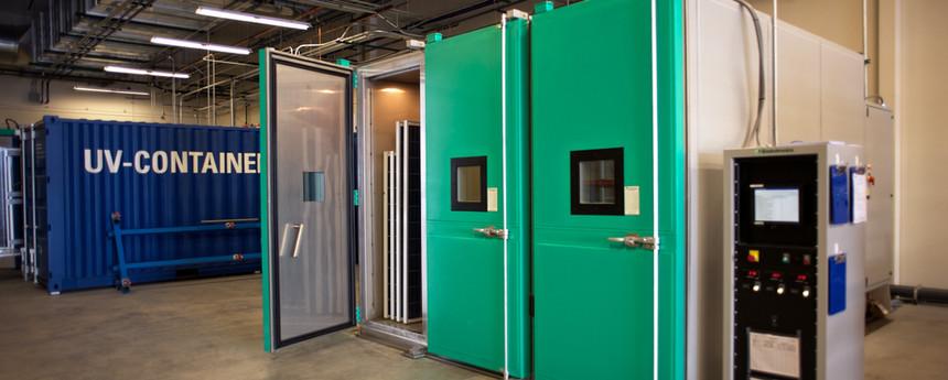 120 Module Environmental Chamber Capacity