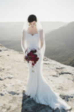 bride hair sydney wedding