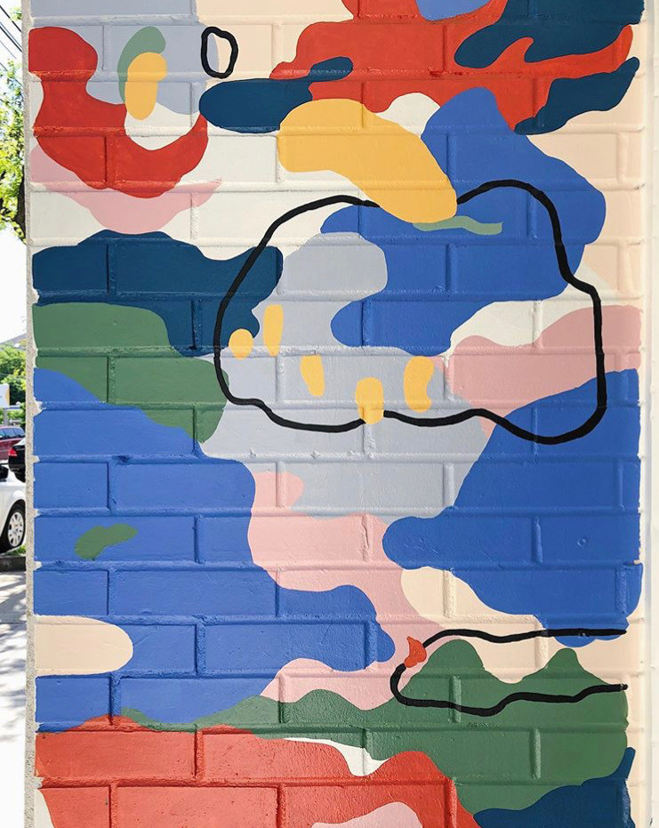 Mural for Cambie Design