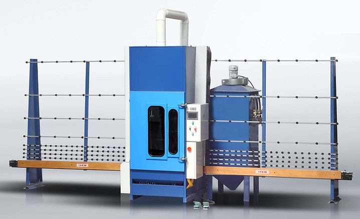 Horizontal sandblasting machine,glass sandblasting equipment,glass sand equipment