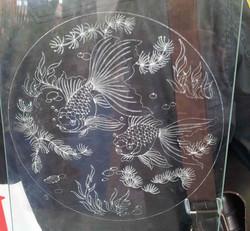 laser engraving glass