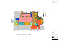 Slide 2 -  Crypt Existing Floor Plan
