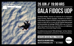 Invitacion Gala UDP informe