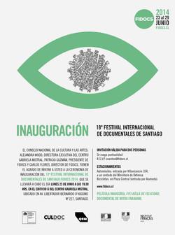 FIDOCS_2014_invitacion inauguracion informe
