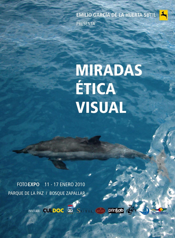 Afiche Miradas Etica Visual