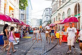 From a street market in Brazil...