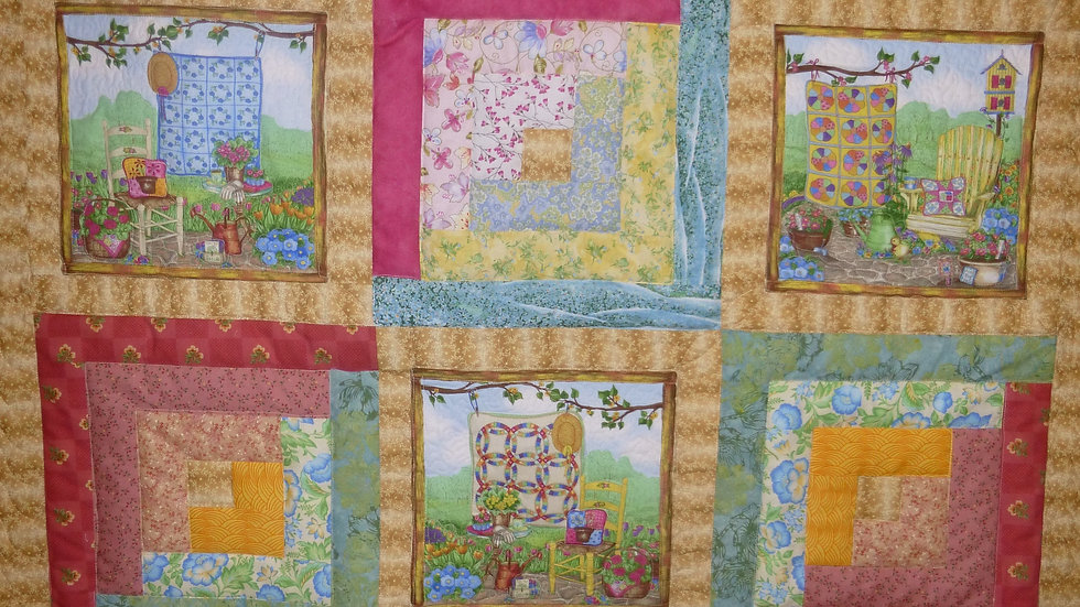 Quilter's Quilt Throw Size