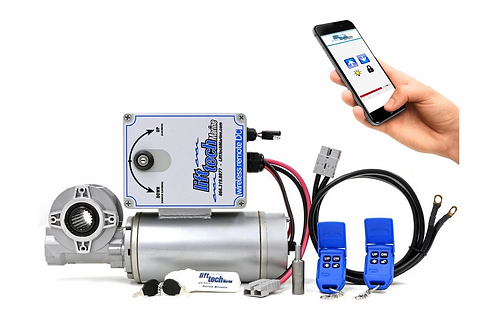 DC DIRECT DRIVE BOAT LIFT MOTOR - WIRELESS REMOTES & BLUETOOTH
