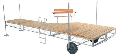 DAKA Truss Style Roll In Dock Systems