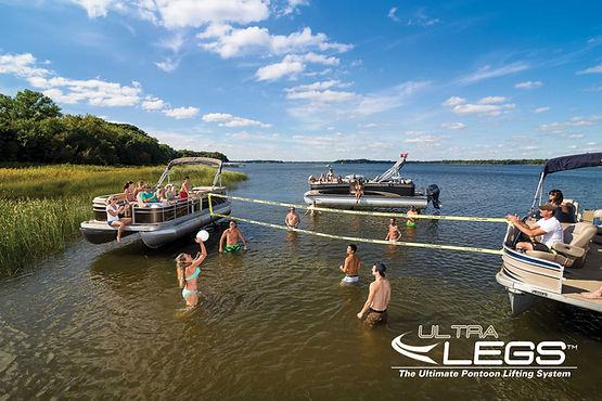 Ultra Legs Pontoon Lift System