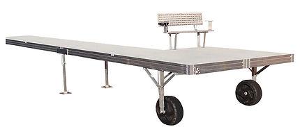 DAKA Aluminum Low Pro Roll-In Dock System
