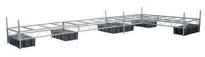 DAKA Floating Truss Style Dock Systems