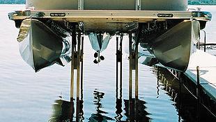 Sea Legs Pontoon Lift System