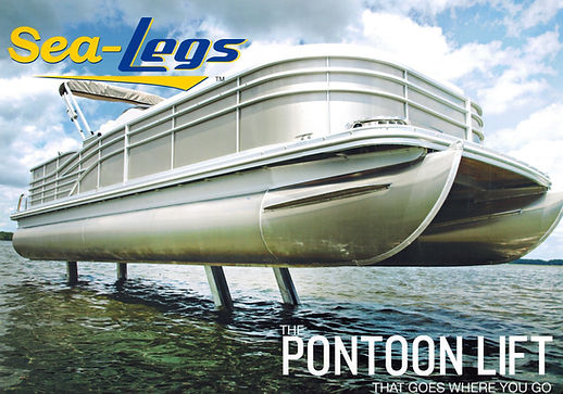 Sea Legs Pontoon Lift System