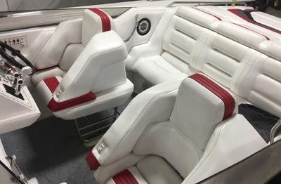 Boat Interior Upholstery Repair