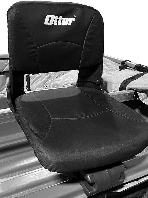 CUSHIONED SEAT W/ BASE & BRACKETS