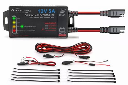 12V SOLAR CHARGER REGULATOR (OLD STYLE CONNECTORS)