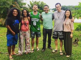 First pilot retreat I hosted in the Amazon Jungle: January 17-26th