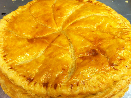 """Galette des Rois,""""French Style King Cake""""."""