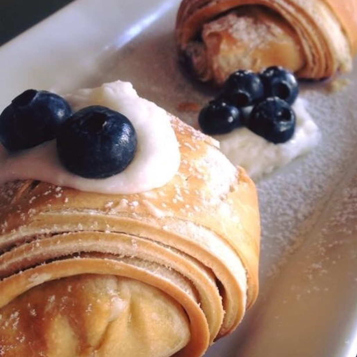 Blueberries & Cream Croissant