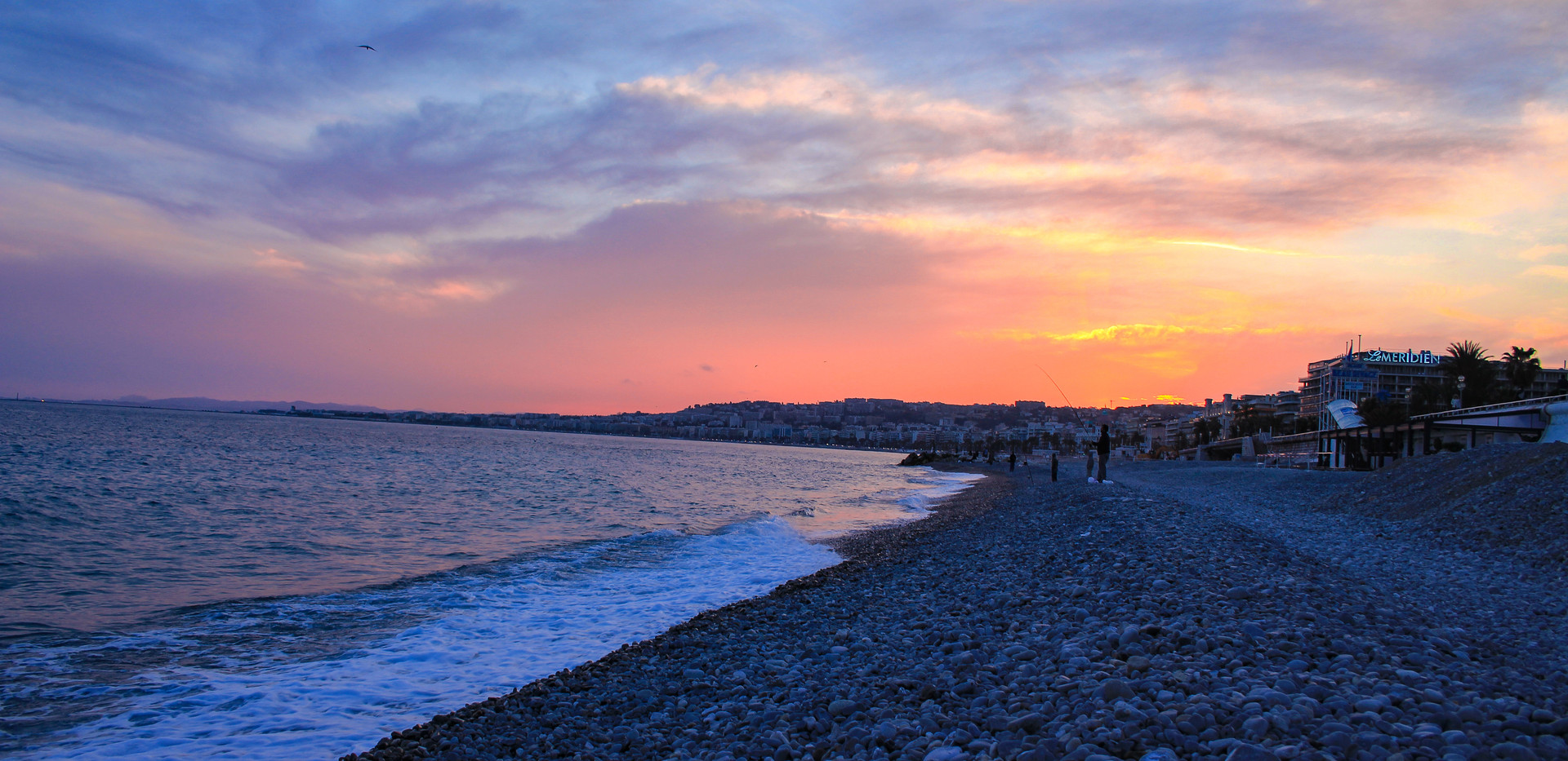 Beachfront in Nice