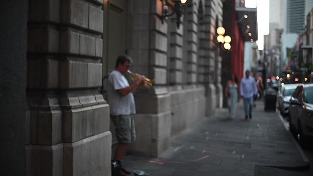 Video: A night out in New Orleans