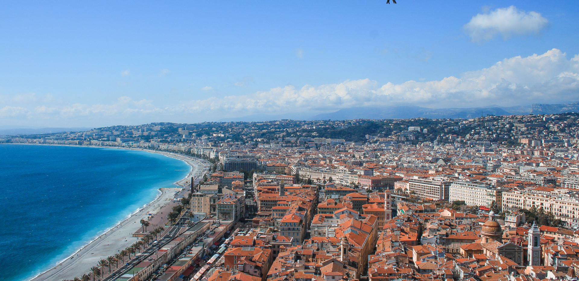 View over Nice