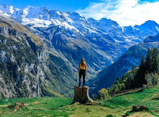 Hiking Guide: The West Side of the Junfrau Region, Switzerland