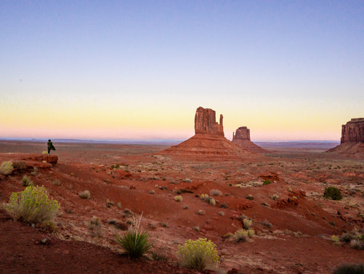 Spending the night in Monument Valley