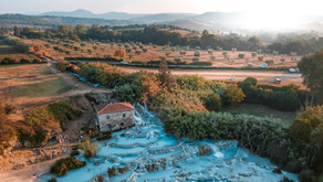 Visiting the Hot Springs in Tuscany