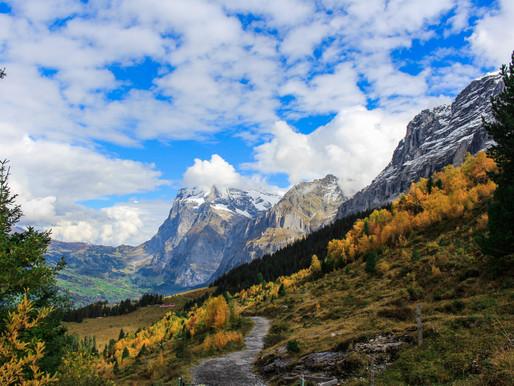 Hiking Guide: The East Side of the Junfrau Region, Switzerland