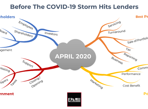 Before The COVID-19 Storm Hits Lenders