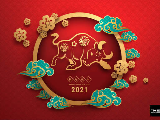 EPA USA Inc wishes you a Happy Chinese New Year of Ox in 2021
