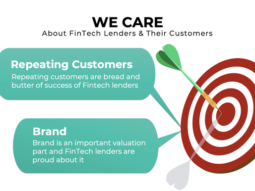 We Care About FinTech Lenders & Their Customers