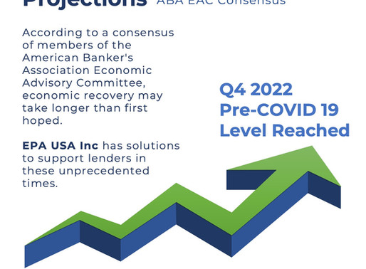 Economic Recovery Projections by ABA EAC Consensus