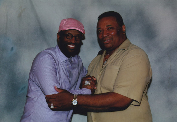 Hollywood and Ricky Smiley