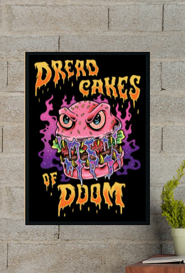 Dreadcakes of Doom Poster - A3
