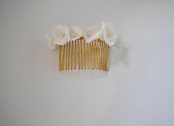 Haarkamm Blumen Modeliert