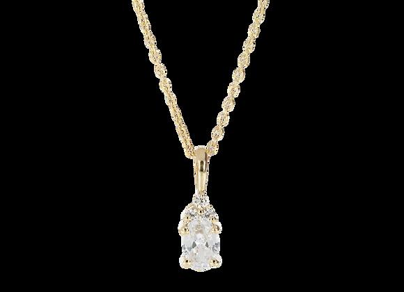 Dazzling Beauty | Halskette mit Kristall-Anhänger