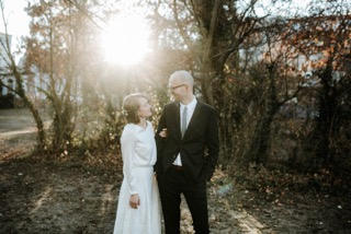 SeidenbrautBilder von Hochzeiten mit Bräuten die in Sandra Nymphius Brautmode geheiratet haben.