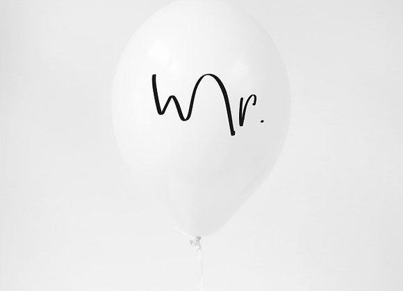 Luftballon Mr.