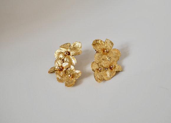 Ohrringe Seidenblüten