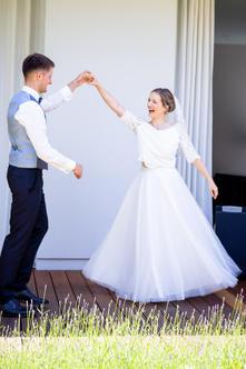Bilder von Hochzeiten mit Bräuten die in Sandra Nymphius Brautmode geheiratet haben.