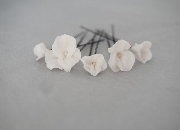 Haarnadeln Blüten 5St.