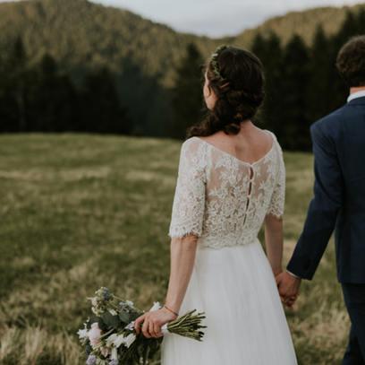 Oberteil Braut auf Maß Sandra Nymphius