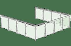 U-shape Balustrades